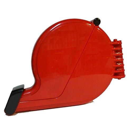 Dispenser ticket eliminacode chiocciola rosso dispenser etichette numerate coda rondine Agendepoint.it