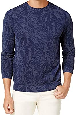 Tommy Bahama Mens Valverde Tropica Pullover Sweater