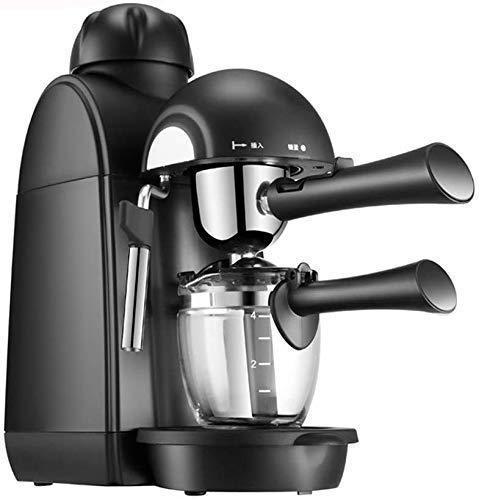 COOLSHOPY Máquina de café, Vapor de Alta presión de Lujo Italiana Máquina de café Mocha Latte Leche Frother Lanza Espuma…
