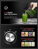 Juicer Wide Mouth Juice Extractor, Aicook Juicer