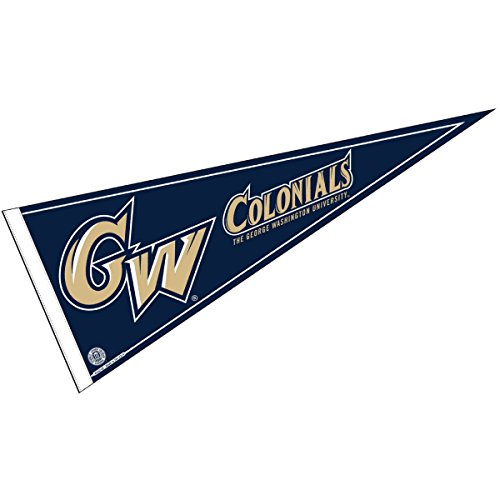 College Flags and Banners Co. George Washington University Pennant Full Size Felt