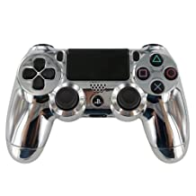 """CHROME"" PS4 Custom UN-MODDED Controller Exclusive Design [video game]"