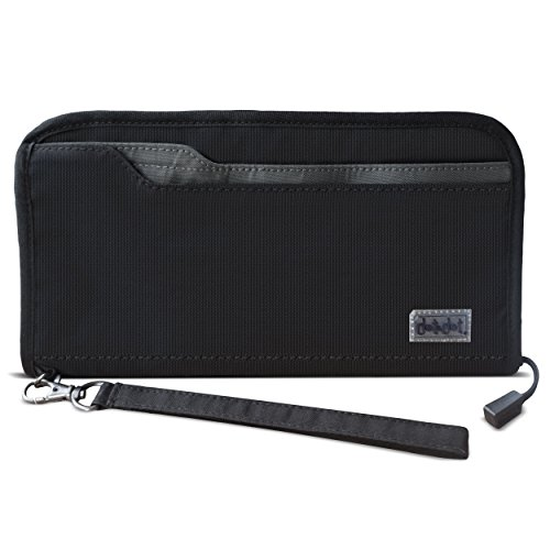 rfid-blocking-wallet-and-passport-holder-security-travel-document-organizer-with-zip-strap-for-ticke