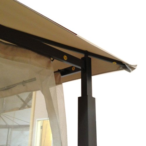 Garden Winds Replacement Canopy For Harbor Gazebo Riplock