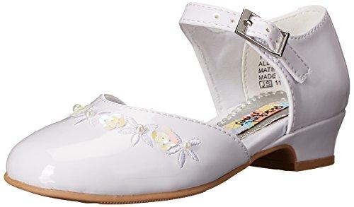 Rachel Shoes Lil Isla Dress Shoe (Toddler/Little Kid), White Patent, 12 M US Little Kid