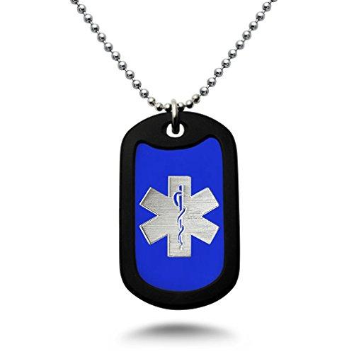 Engraved Medical Necklace - 5