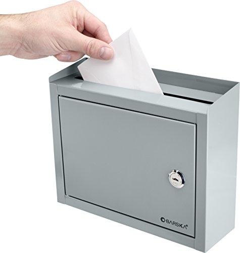 BARSKA Multi-Purpose Drop Box, Grey by BARSKA (Image #6)