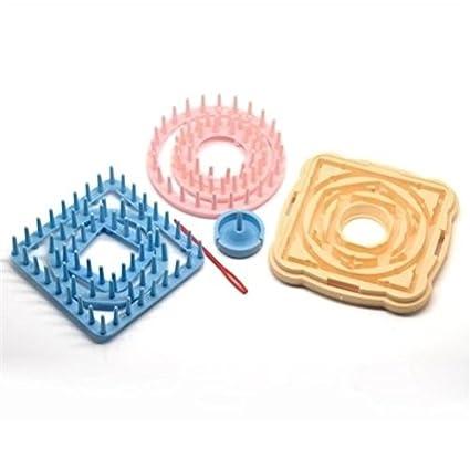 kit de telar de tejer modelo de la margarita de punto flores ...