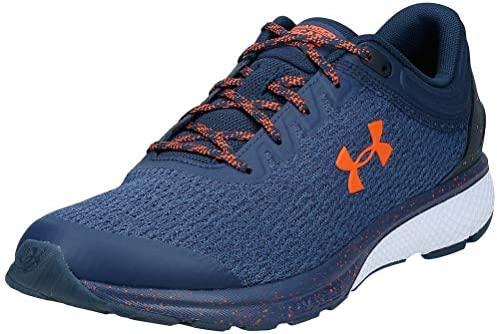 Absolutamente Discreto búnker  Under Armour Charged Escape 3 Men's Running Shoes, Blue (Academy/White/Team  Orange), 43 EU: Buy Online at Best Price in UAE - Amazon.ae