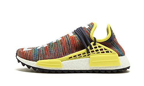 b2664b844f8e9 adidas Mens PW Human Race NMD TR Multicolor Noble Ink Yellow Fabric Size 13