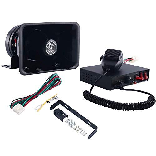 FreeTec 8 tonen alarmsysteem signaalhoorn 200 W auto hoorn sirene luidspreker noodwaarschuwing PA systeem kit wordt…