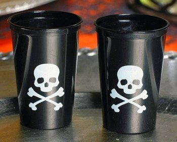 Pirate Shot Glasses (50 Plastic Shots)