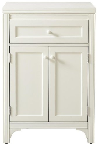 Etonnant Amazon.com: Martha Stewart Living153; Laundry Storage Two Door Cabinet,  36HX24WX24D, PICKET FENCE: Home U0026 Kitchen