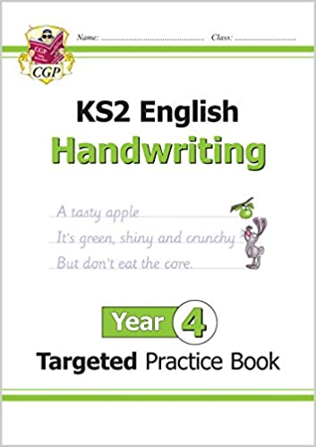 New KS2 English Targeted Practice Book: Handwriting - Year 4 ...