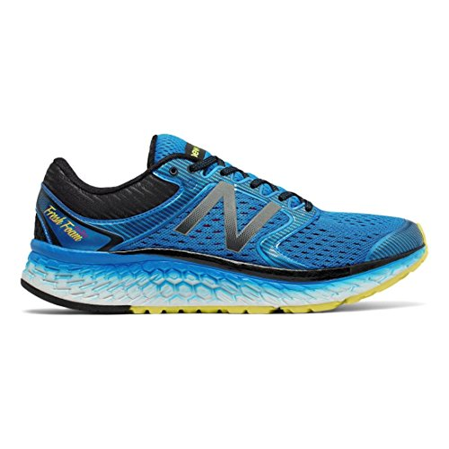 New Balance Men's M1080v7 Running Shoe Electric Blue/Hi Lite 11 D US