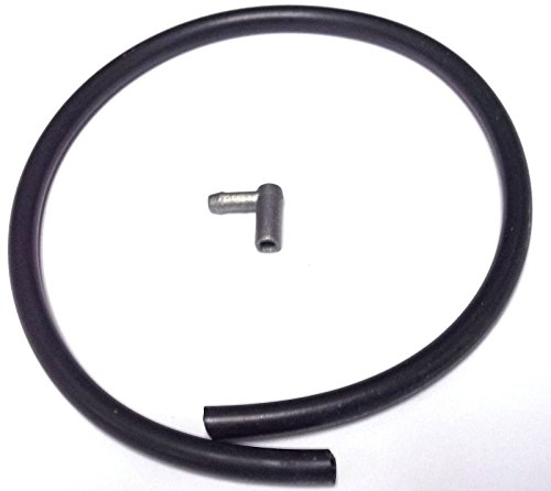 NEW KTM CRANKCASE BREATHER HOSE FITTING ANGLE PIECE 50 85 105 SX XC (New Crankcase)