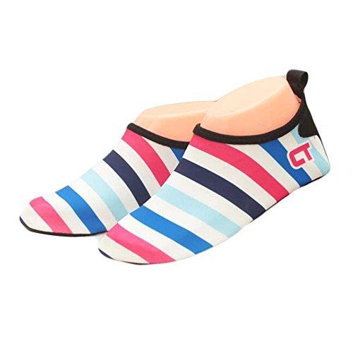 De Sock D'eau Indoor Enfants Douce Chaussures Sport Plage Multicolore fwTz5