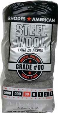Rhodes American Steel Wool Very Fine No. 00