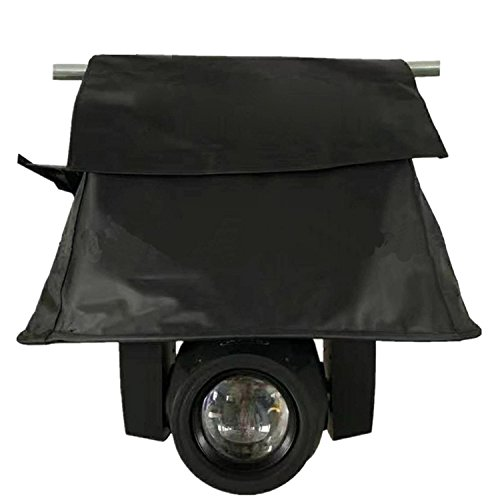 (Pack of 8) Waterproof Rain Cover, Weather Shield, Rain Shield, For Moving Head,Moving Beam Light, Use For Outdoor Performance Waterproof of Stage Light (For Moving Beam)