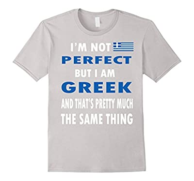 Greek Pride T Shirt Funny Grecian Flag T Shirt