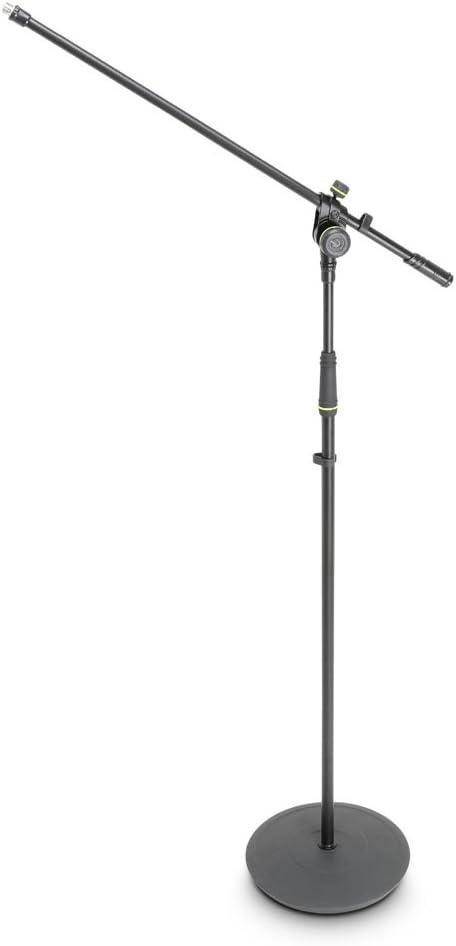 Gravity MS 2321/B/ /Support pour microphone avec pied Assiettes et 2/point de perche