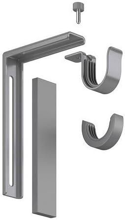 Ikea Accessoires De Fixation Betydlig Pour Tringles De Rideau Au Mur Ou Au Plafond Argente