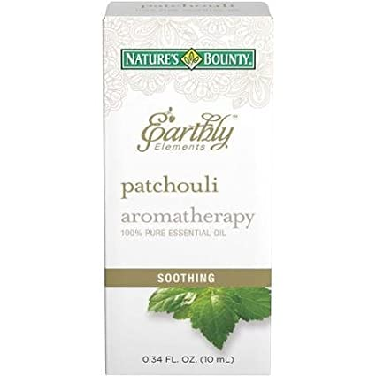 Nature's Bounty Earthly Elements Aromatherapy Essential Oil, Patchouli, 0.34 fl oz by Nature's Bounty Nature' s Bounty