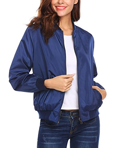 Style Donna 3 Giacca Navy Meaneor Blue vF5qExwfnT