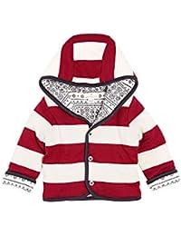 Baby Girls' Jacket, Hooded Coat, 100% Organic Cotton