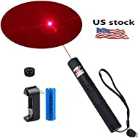 WORD GX Red Beam Laser Pointer Laser Projector Pen Flashlight