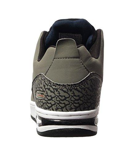 Phat Boerderij Morris Heren Hoge Top Mode Sneakers Grijs