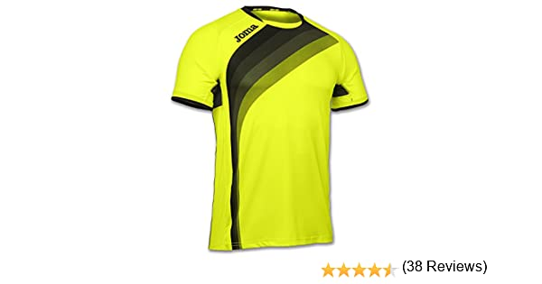Joma Elite V Camiseta, Unisex Adulto, Amarillo Fluor, 4XS-3XS ...