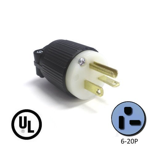 41wATclFieL 6 20p plug nema straight blade 20 amp, 250v power cord plug cs6369 wiring diagram at mifinder.co
