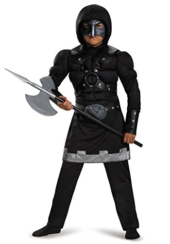 Disguise 85346K Executioner Muscle Costume, Medium (7-8) (M Dress Up Ideas)