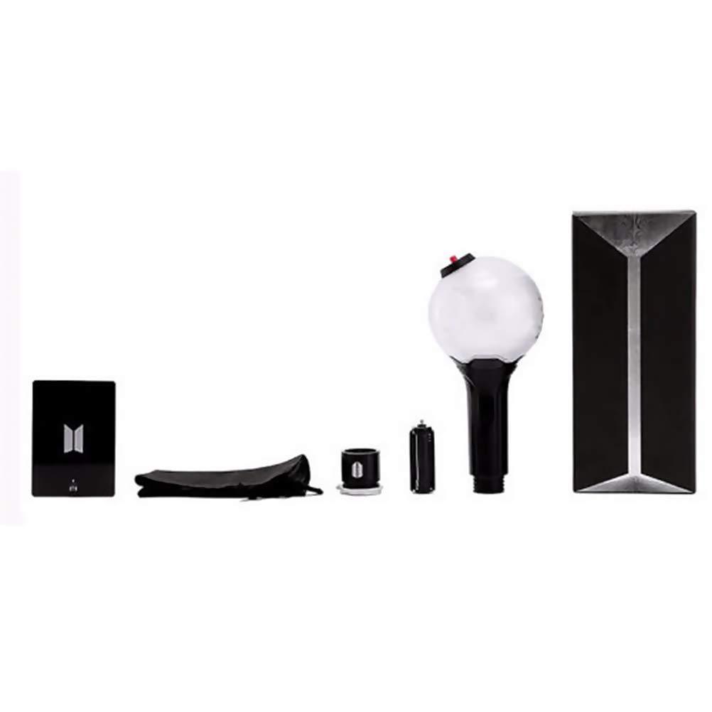 9.8 Daxoon BTS Lampe de Concert Officielle BTS Ver.1//Ver.2//Ver.3 LED BTS Kpop pour Fans de Bangtan 9.8 22.4cm ver 3