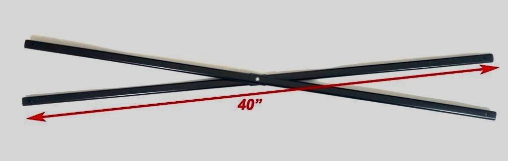 Details about Ozark Trail Coleman First Up 10x10 Instant Canopy-MIDDLE  Truss Bars 40
