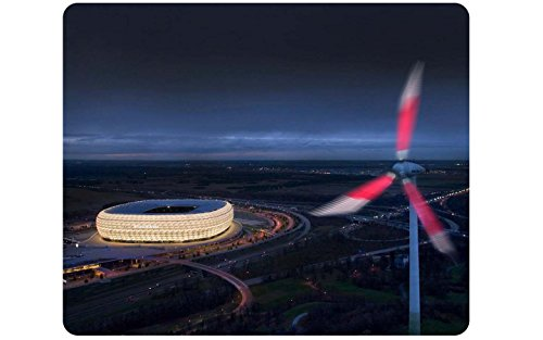 the-allianz-arena-in-munich-custom-rectangular-mouse-pad-customized-desktop-laptop-gaming-mouse-pad