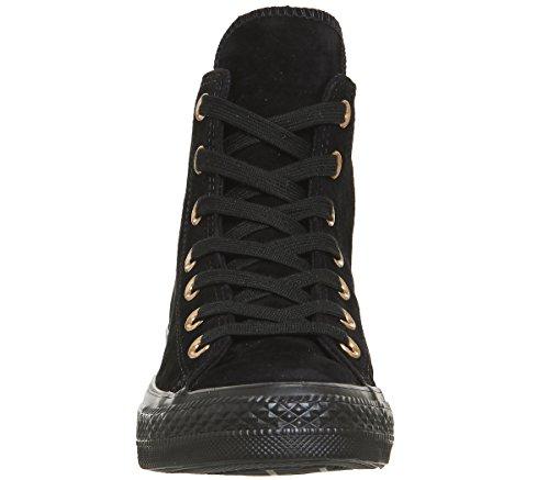 Black All Leather Exclusive Chuck Metallic Star Converse Adulte De Taylor Suede Gymnastique Chaussures Mixte Mono Hi Xx4qB7w