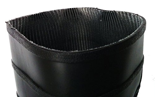 Herco 16'' Black Rubber Steel Toe Rain Work Boots - Men's Size 11 by Unknown (Image #2)
