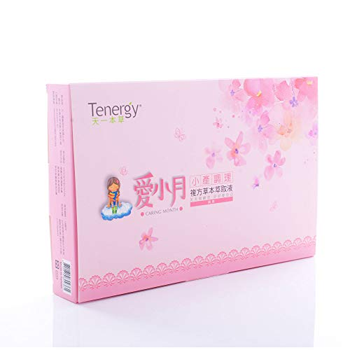 Tenergy Herb Caring Month, Woman's Herbal Fruits Tea Gift Box (Chinese Herbal for Postpartum, Miscarriage) 20 packets for 15 days