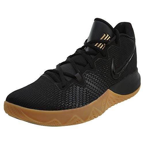 Nike Mens Kyrie Flytrap Basketball High Top Sneakers (12 M US, Black/Metallic Gold/Anthracite)
