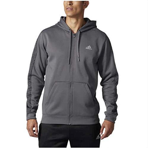 (adidas Men's Tech Fleece Full Zip Hoodie - M - Gray)