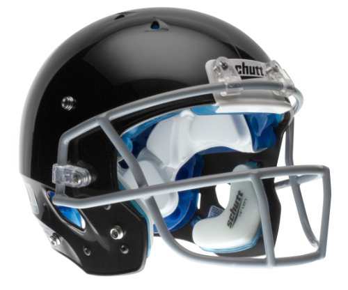 + Football Helmet without Faceguard (Black, Large) ()