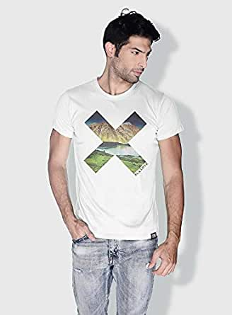 Creo Almaty X City Love T-Shirts For Men - Xl, White