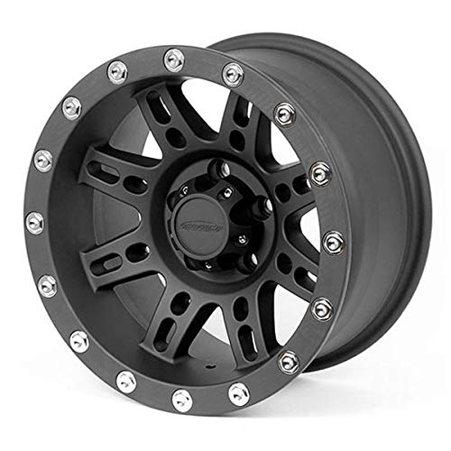 Photo Pro Comp Wheels 7031-5865 Xtreme Alloys Series 7031 Black Finish Size 15x8 Bolt Pattern 5x4.5 in. Back Space 3.75 in. Offset -19 Max Load 2200 Xtreme Alloys Series 7031 Black Finish