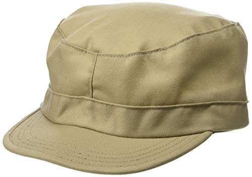 Propper Men's Bdu Patrol Cap - 65/35 Twill, Khaki, Large ()
