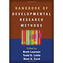 Handbook of Developmental Research Methods