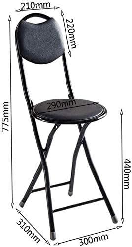 XUHRA Chaise De Salle À Manger Multifonction Pliante Chaise Haute Chaise Bébé Dossier Cuisine Tabouret Doux
