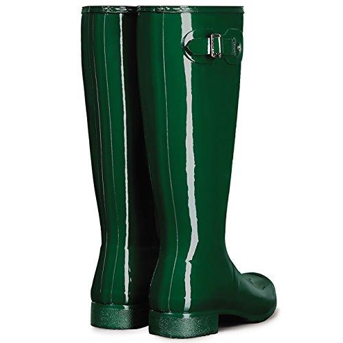 Cazador De Mujeres Original Tour Gloss Wellies Wellingtons Snow RainBotas Hunter Green