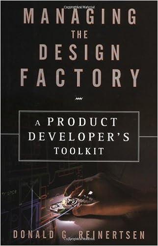 El Mejor Utorrent Descargar Managing The Design Factory: A Product Developers Tool Kit PDF Gratis Sin Registrarse